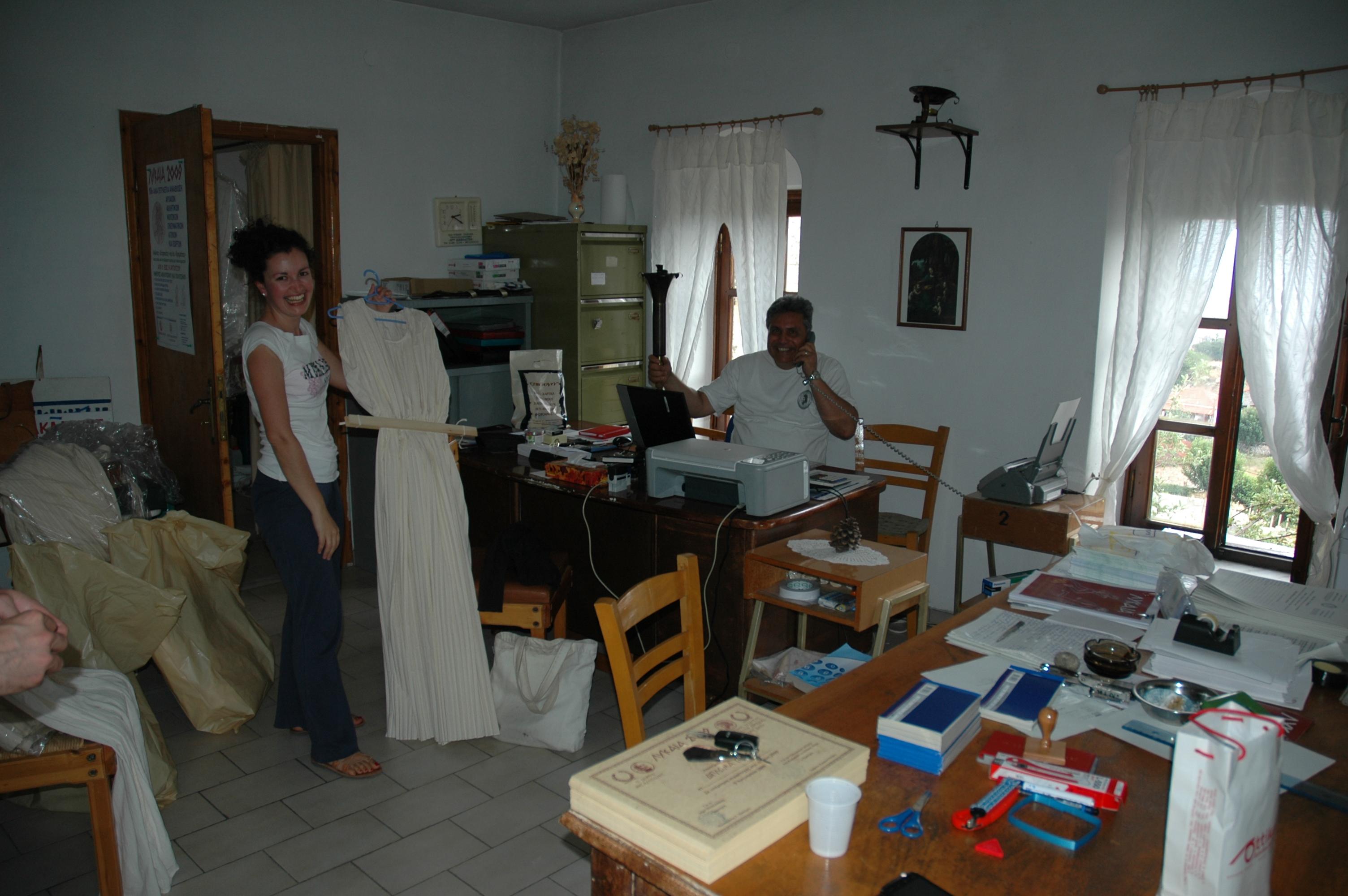 Christos Koumoundouros with a Priestess