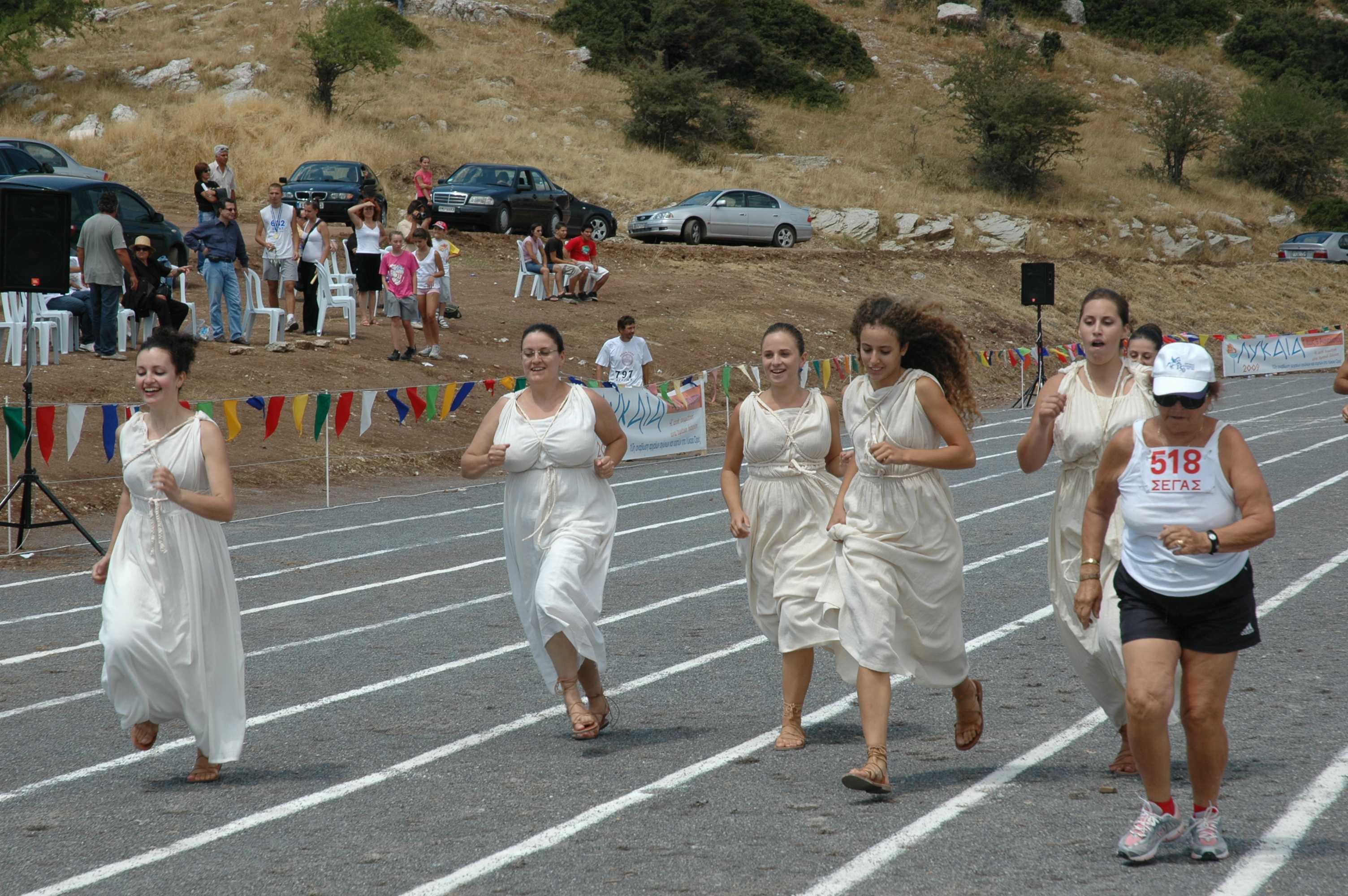 Priestesses on the move!