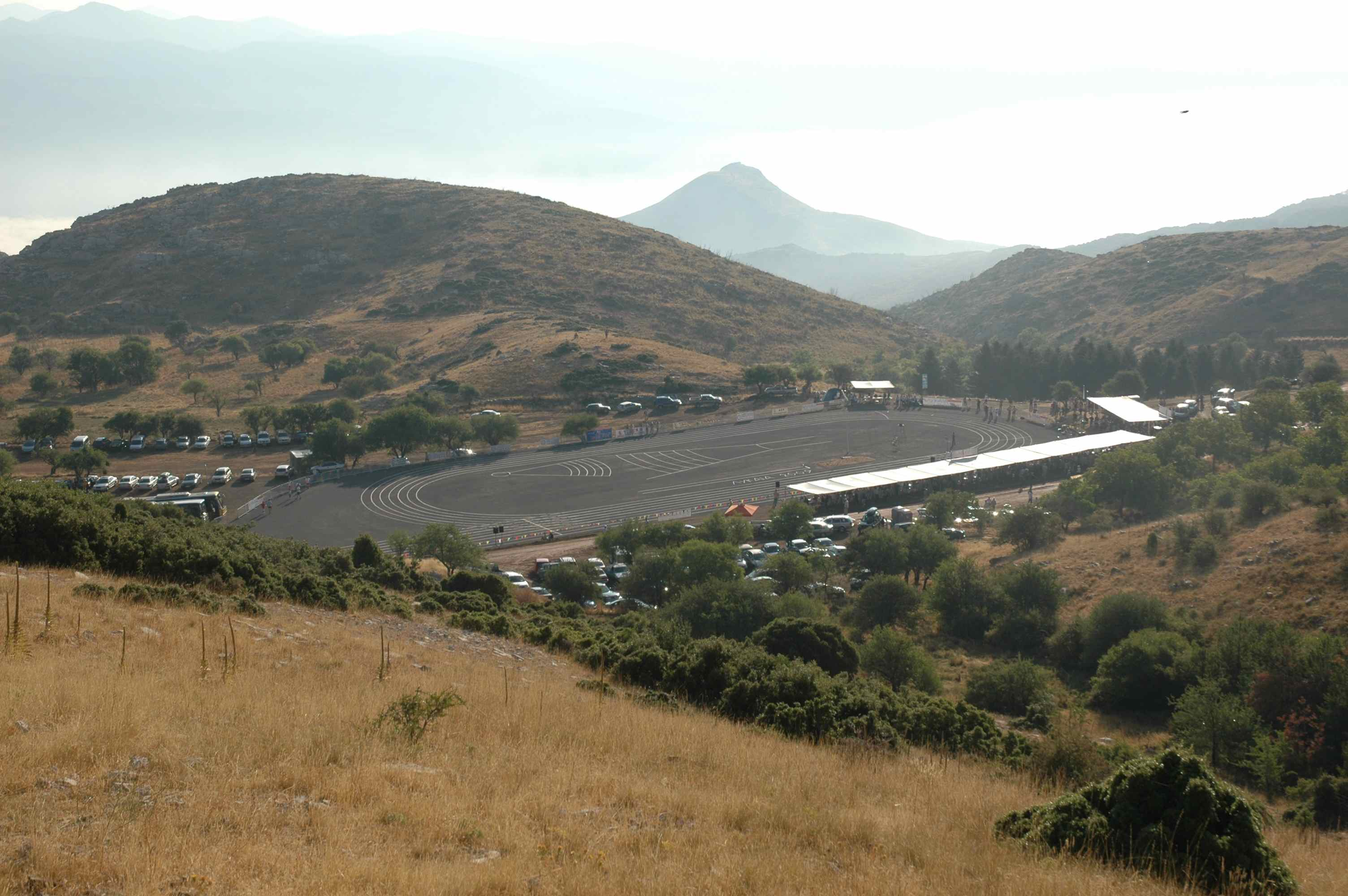 Site of the Lykaion Games, August 9, 2009
