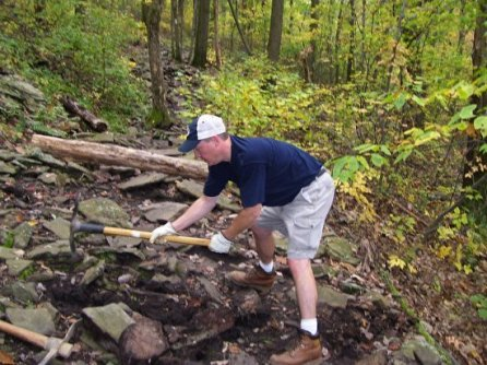 Brian Walker from HRG said we have a rocky trail.