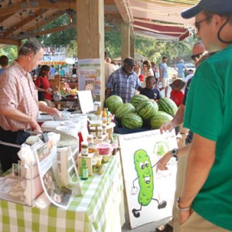Be Sure To Visit The Pickle Man