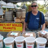 Mikes Peanuts Boiled Hot on Site