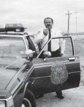 Sgt. Price had been a member of the Sullivan's Island Police Department for four years when Hurricane Hugo hit.