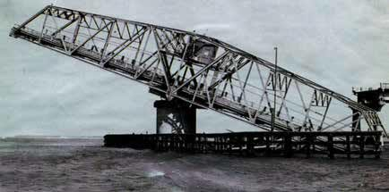 """Sgt. Price was """"in a state of shock"""" when he saw the Ben Sawyer Bridge, which connects Sullivan's Island to Mount Pleasant, dangling in the Intracoastal Waterway."""
