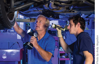 BMW repair business