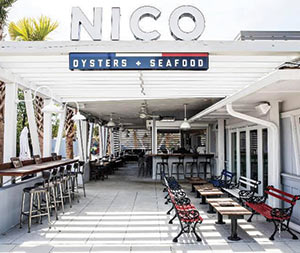 NICO Oysters + Seafood, near Shem Creek in Mount Pleasant, SC