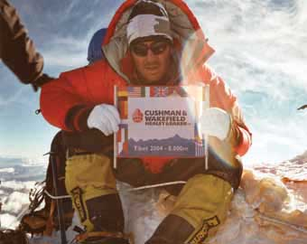 Harry Farthing on Everest
