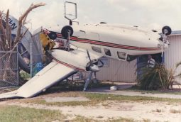 Another Cessna aircraft after Hurricane Andrew