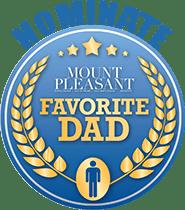 Nominate Favorite Dad Badge