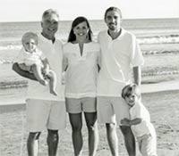 Patrick Lloyd with family
