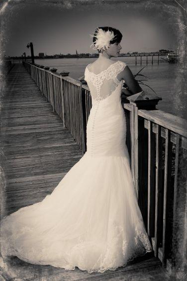 Jeans Bridal Pic by Jenn Cady