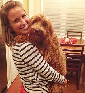 Finley the Irish-doodle, Ashley Cashon - East Cooper Pets