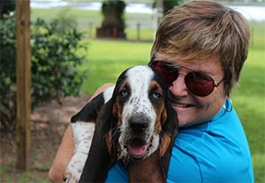 Tides Sinatra the Basset Hound, Missy Johnson - East Cooper's Pets