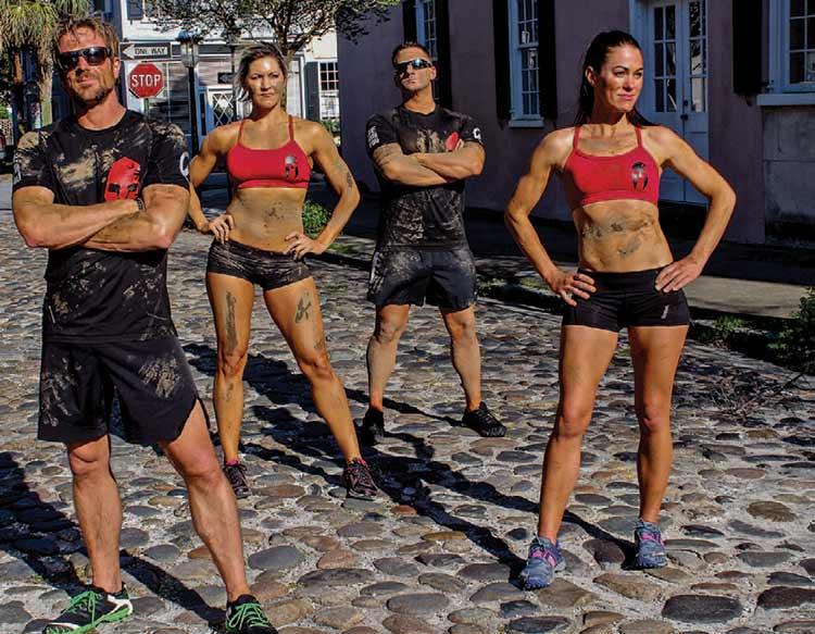 NBC's Spartan Ultimate Team Challenge Contestants - the Charleston Warriors, photo courtesy of Adam Von Ins