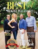 Best of Mount Pleasant 2017 Magazine Cover
