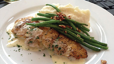 Red Drum has an outstanding brunch