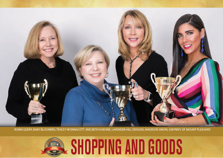 Best of Mount Pleasant 2018 - Shopping & Goods