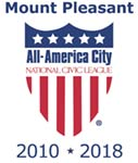 Mount Pleasant, SC, named All-America City, 2010 * 2018 (tiny version)