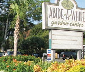 Abide-A-While Garden Center in Mt Pleasant, SC