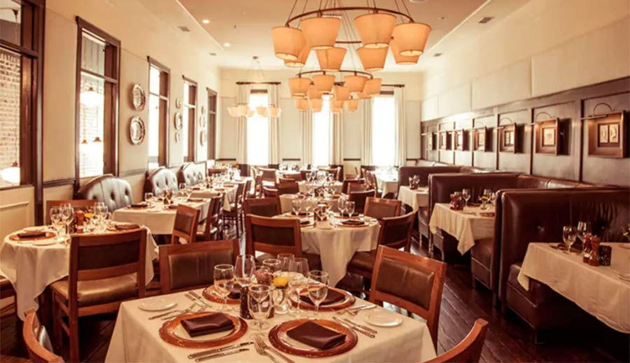 Mount Pleasant Magazine readers agreed that Halls Chophouse is the Best Downtown Charleston Restaurant