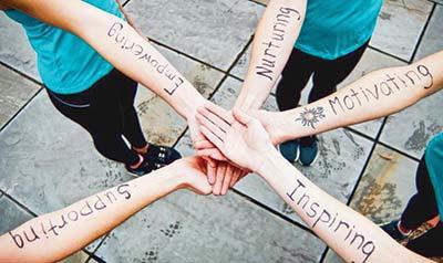 FIT4MOM ladies - Empowering, Nurturing, Motivating, Inspiring, Supporting.