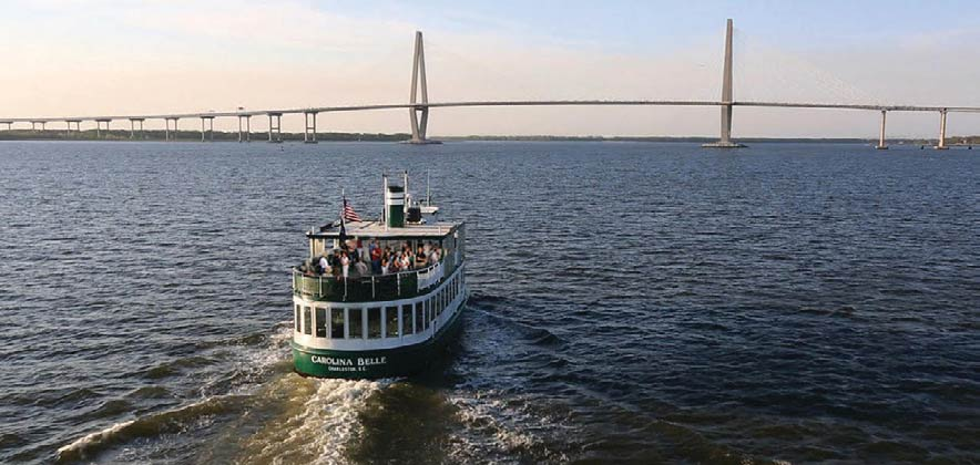 Charleston Harbor Tours.
