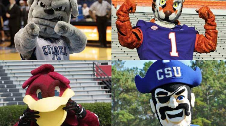 College Football Mascots