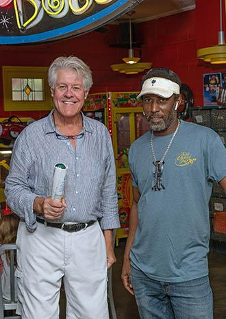 Jack Hurley (left) and David Jackson (right)