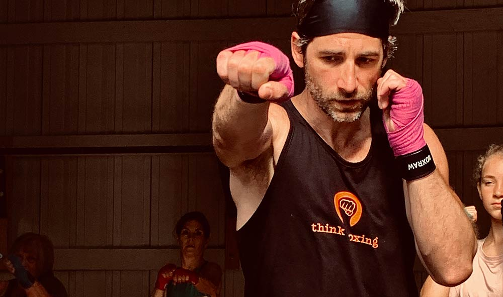 The Think Boxing program is a non-contact curriculum that teaches the fundamentals of boxing to help heal and empower those struggling with trauma, depression, addiction and other mental health challenges.