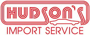 Hudson's Import Service logo