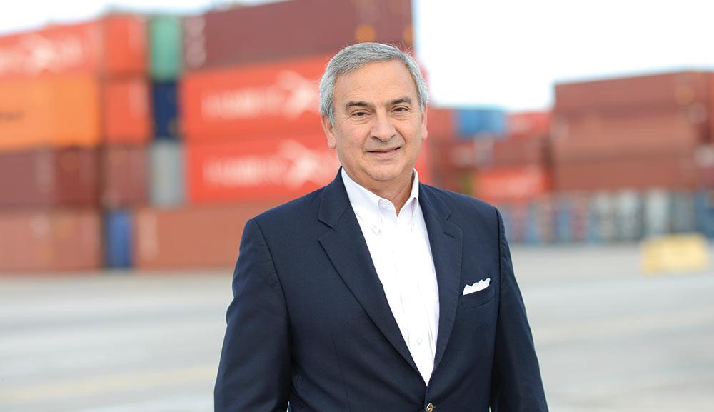 Jim Newsome of the South Carolina Ports Authority