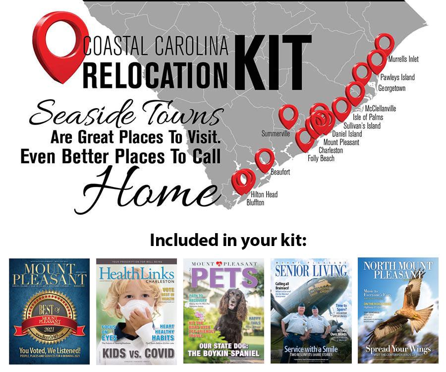 Coastal Carolina Relocation Kit