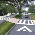 Mount Pleasant Way Conceptual crossing enhancements. Courtesy of the Mount Pleasant Way Master Plan.