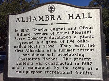 Alhambra Hall historical marker