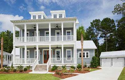 Jackson Built Homes custom home in Riverside at Carolina Park.