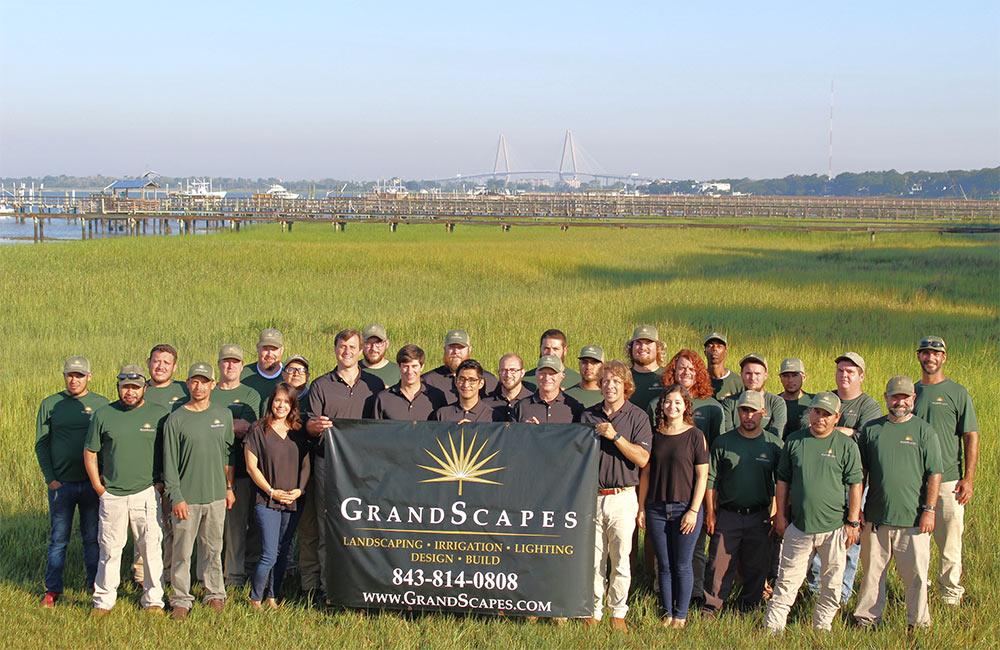 Grandscapes team photo. Grandscapes, Mount Pleasant, South Carolina.