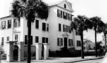 The Adger Home on Calhoun Street.