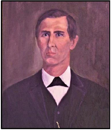 Painting of C.D. Franke.