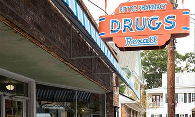 Pitt Street Pharmacy in Mt. Pleasant, South Carolina