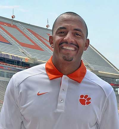 Tony Elliott, Clemson Tigers Offensive Coordinator, Clemson University.