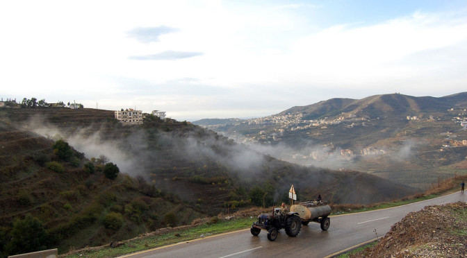 syrian tractor