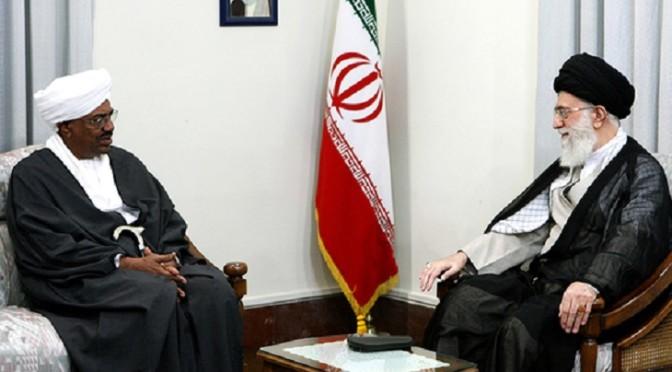 Sudan's President Omar Hassan al-Bashir meets with Iran's Supreme Leader Ayatollah Ali Khamenei in Tehran