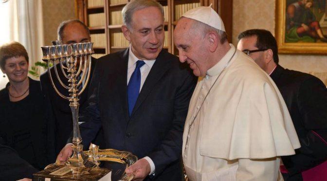 pope francis satanyahu
