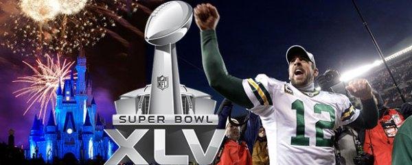 "Super Bowl XLV MVP Aaron Rodgers ""I'm going to Disney World!"""