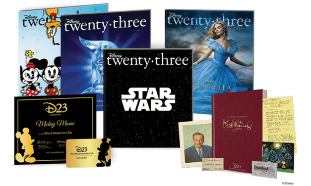 Exclusive discounts and savings for D23 members in 2016