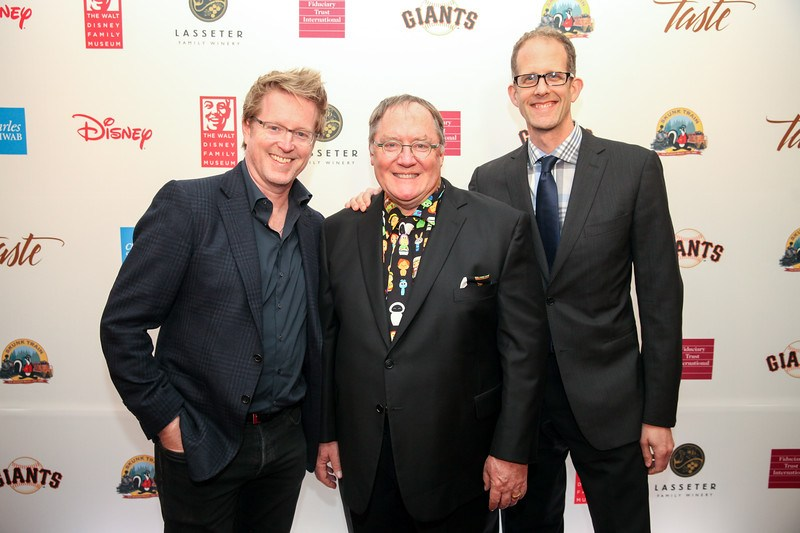 Menzel, Bell, Iger; Disney and Pixar top brass show for John Lasseter top honor at WDFM