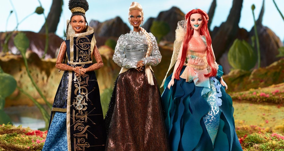 Seriously stunning dolls for A WRINKLE IN TIME celebrate diverse cast
