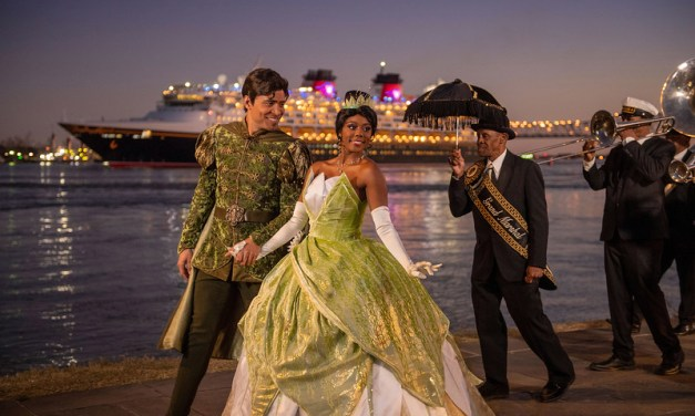 Princess Tiana helps kick off Disney Cruise Line inaugural New Orleans sailing season