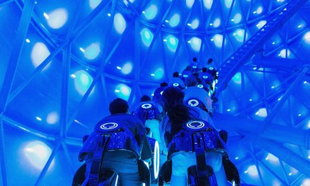 WATCH: Virtual ride through of TRON: LIGHTCYCLE POWER RUN at Shanghai Disney