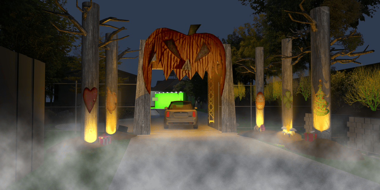 FREEFORM'S HALLOWEEN ROAD invites you (and your car) for some FREE tricks and treats in drive-through event